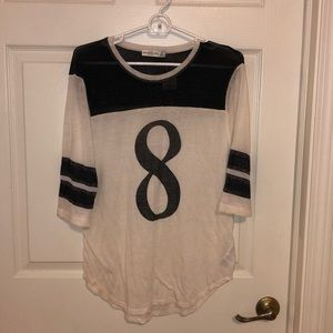 NWT Abercrombie & Fitch Baseball Tee